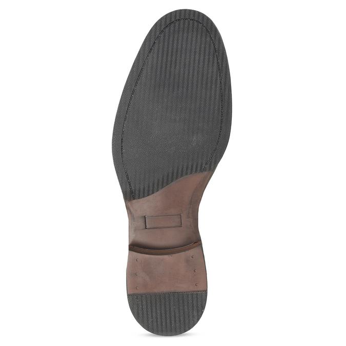 Pánské Chelsea kožené černé bata, černá, 826-6504 - 18