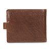 Pánská kožená peněženka hnědá bata, hnědá, 944-3202 - 16