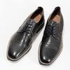 Pánské kožené Derby polobotky bata, černá, 826-2866 - 16