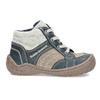 Dětská kotníčková obuv s teplou podšívkou bubblegummers, šedá, 111-2627 - 19