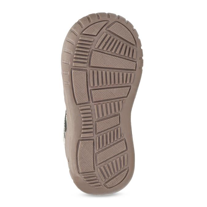 Dětská kotníčková obuv s teplou podšívkou bubblegummers, šedá, 111-2627 - 18