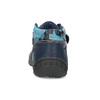 Dětské kotníkové boty na suché zipy modré bubblegummers, modrá, 111-9628 - 15