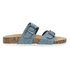 Dámské korkové pantofle modré bata, modrá, 579-9625 - 19