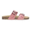 Dámské korkové pantofle růžové bata, růžová, 579-5625 - 19