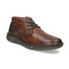 Kožená pánská kotníčková obuv bata, hnědá, 846-4718 - 13