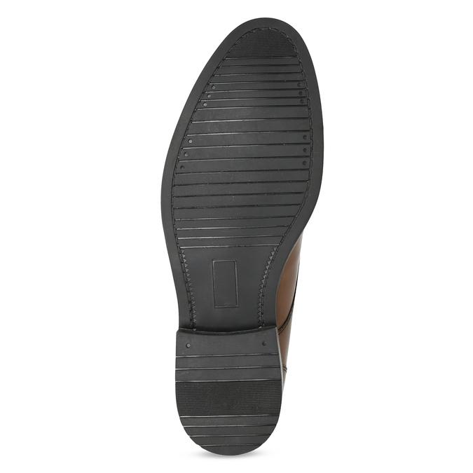 Pánská kožená kotníčková obuv bata, hnědá, 826-3893 - 18