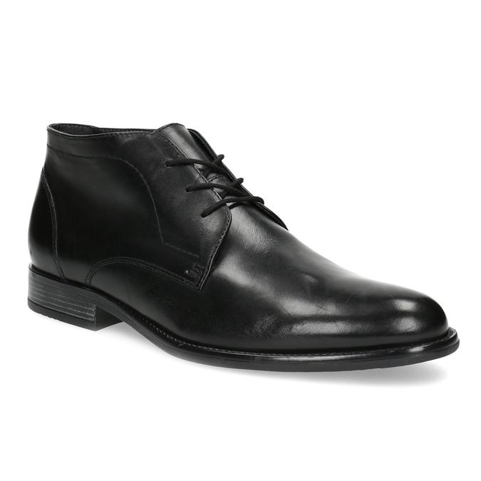 Pánská kožená kotníčková obuv bata, černá, 824-6892 - 13