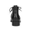 Kotníčková dámská obuv s Brogue zdobením gabor, černá, 624-6031 - 15