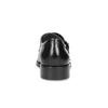 Pánské kožené Monk shoes černé bata, černá, 824-6632 - 15