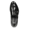 Pánské kožené Monk shoes černé bata, černá, 824-6632 - 17