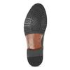 Pánské kožené Monk shoes černé bata, černá, 824-6632 - 18
