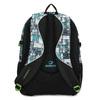 Školní batoh šedo-modrý bagmaster, zelená, 969-7717 - 16