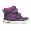 Kotníkové dětské boty s teplou podšívkou bubblegummers, fialová, 123-5610 - 19