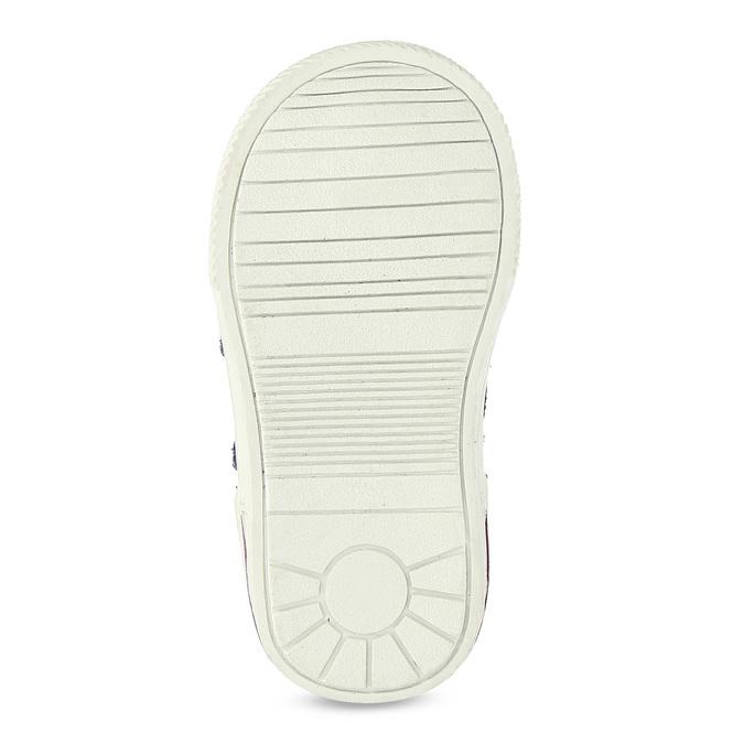 Kotníkové dětské boty s teplou podšívkou bubblegummers, fialová, 123-5610 - 18