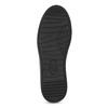 Dámské prošívané tenisky černé bata-light, černá, 541-6603 - 18