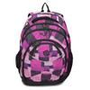 Dívčí školní batoh fialovo-růžový bagmaster, růžová, 969-5720 - 26