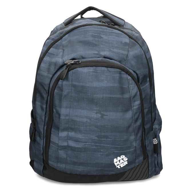Tmavě šedý školní batoh bagmaster, šedá, 969-2722 - 26