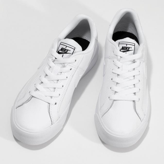Dámské tenisky bílé nike, bílá, 501-1153 - 16