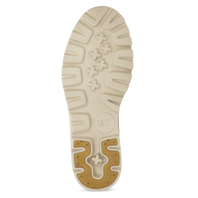 Dámská kotníčková obuv z broušené kůže weinbrenner, hnědá, 594-4323 - 18