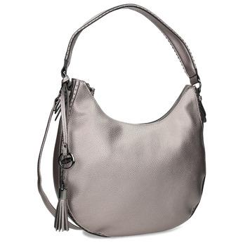 Stříbrná kabelka s ramenním popruhem gabor-bags, bílá, 961-1044 - 13