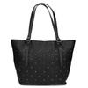 Černá kabelka se cvočky gabor-bags, černá, 961-6036 - 26