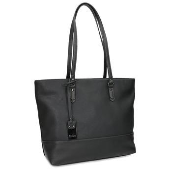 Černá kabelka shopper bag gabor-bags, černá, 961-6038 - 13