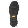 Kožená pánská Slip-on obuv s prošitím, černá, 816-6011 - 18