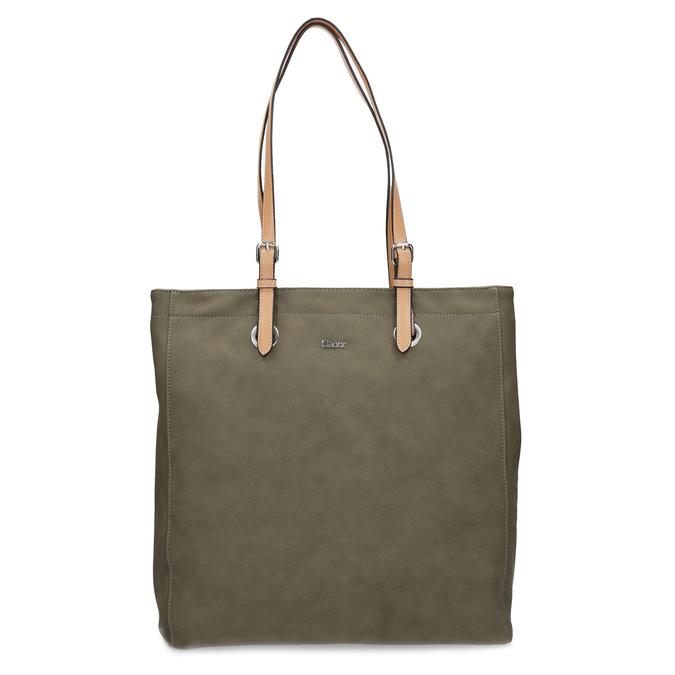 Khaki dámská kabelka gabor-bags, zelená, 961-7049 - 26