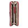 Červená dámská peněženka na zip bata, červená, 941-5223 - 15