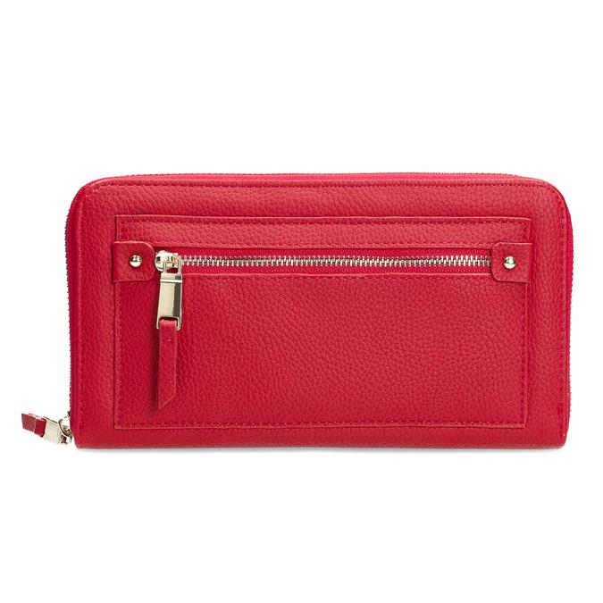 Dámská červená peněženka se zipem bata, červená, 941-5221 - 26