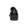 Pánské kožené Monk Shoes polobotky bata, černá, 824-6613 - 15