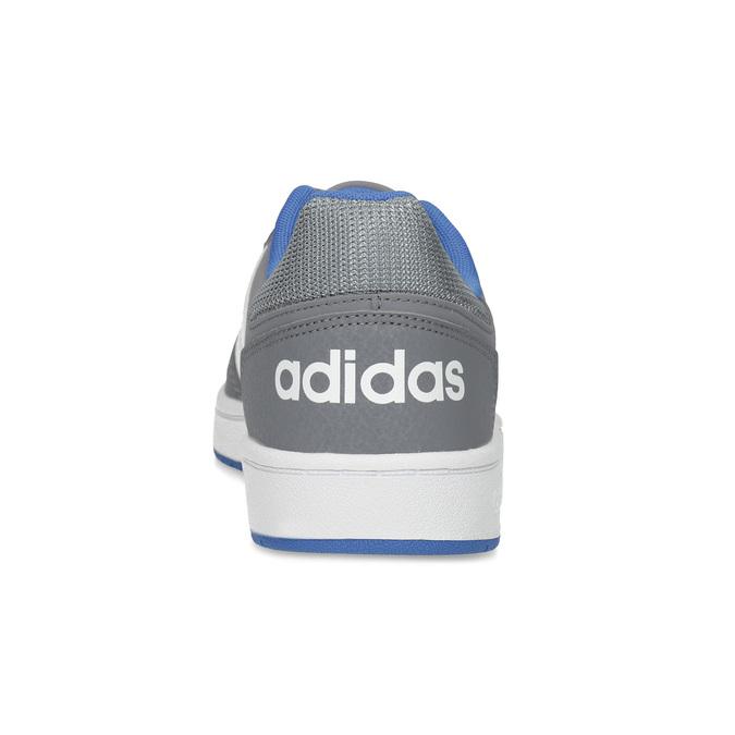 Šedé dětské ležérní tenisky adidas, šedá, 401-2337 - 15