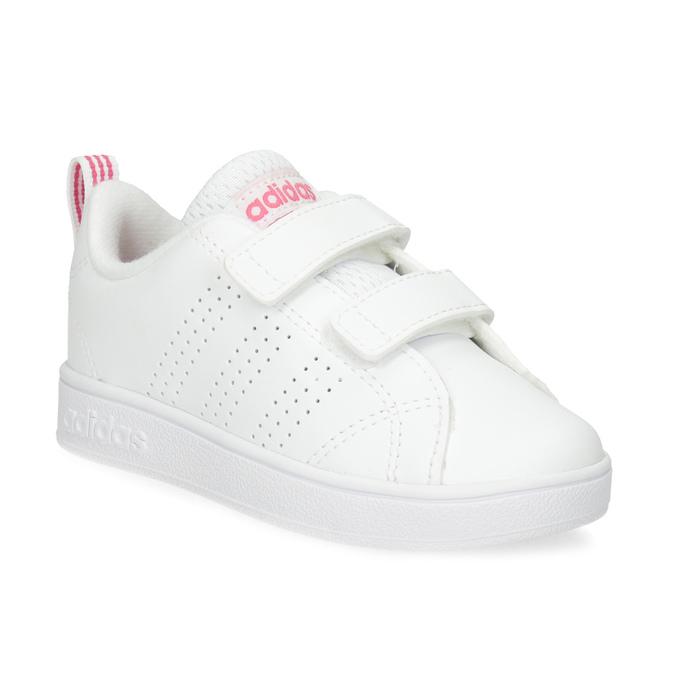 Bílé dětské tenisky s perforací na suché zipy adidas, bílá, 101-5133 - 13