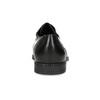 Pánské černé kožené Derby polobotky bata, černá, 824-6891 - 15