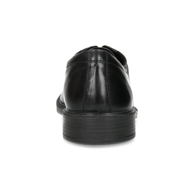 Pánské kožené polobotky černé comfit, černá, 824-6820 - 15