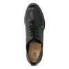 Kotníčková dámská obuv se šněrováním insolia, černá, 711-6600 - 17