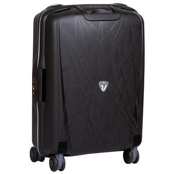 Černý kufr se vzorem roncato, černá, 960-6731 - 13