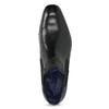 Černá kožená kotníčková obuv bugatti, černá, 814-6013 - 17