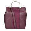 Dámská kabelka ve stylu Bucket bata, červená, 961-5890 - 16