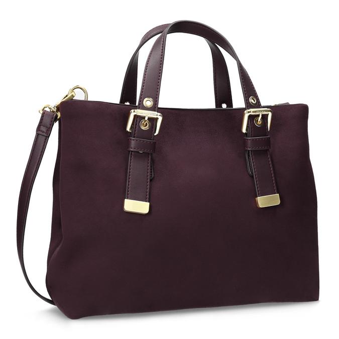 Dámská vínová kabelka bata, červená, 969-5691 - 13