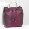Dámská kabelka ve stylu Bucket bata, červená, 961-5890 - 17