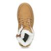 Kotníčková dětská obuv se zateplením mini-b, žlutá, 491-8652 - 17