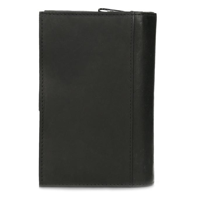 Dámská kožená peněženka bata, černá, 944-6155 - 16