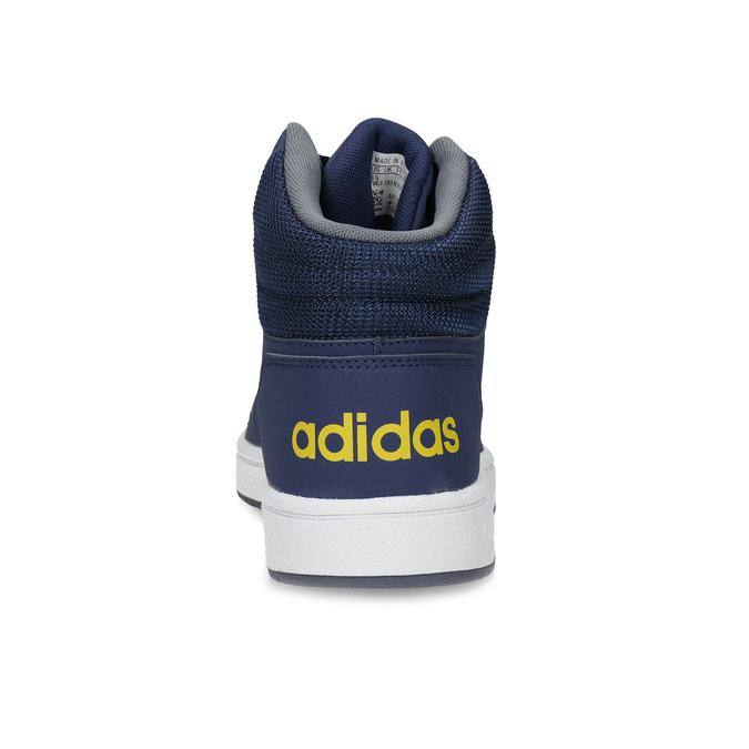 Dětské modro-žluté kotníčkové tenisky adidas, modrá, 401-9345 - 15