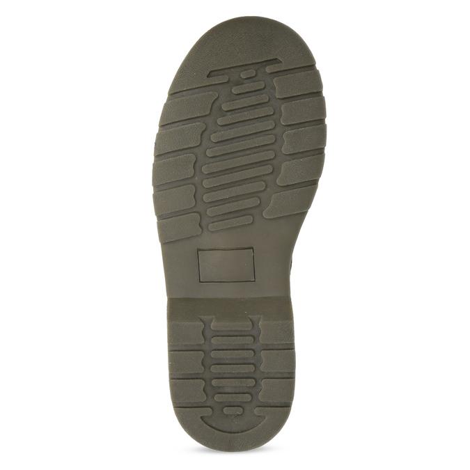 Dívčí kotníčková obuv černá lesklá mini-b, černá, 391-6259 - 18
