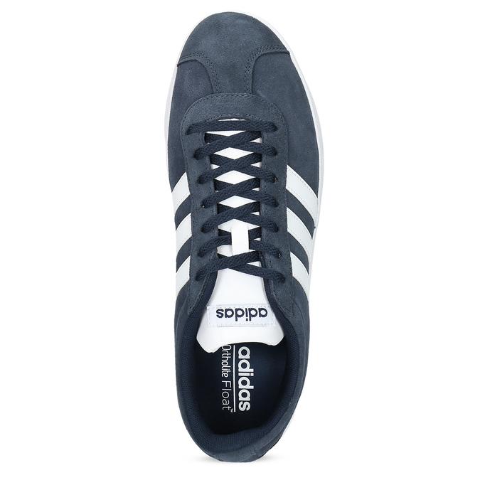 Pánské tenisky z broušené kůže adidas, modrá, 803-9379 - 17
