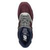 Pánské tenisky z broušené kůže new-balance, červená, 803-5171 - 17