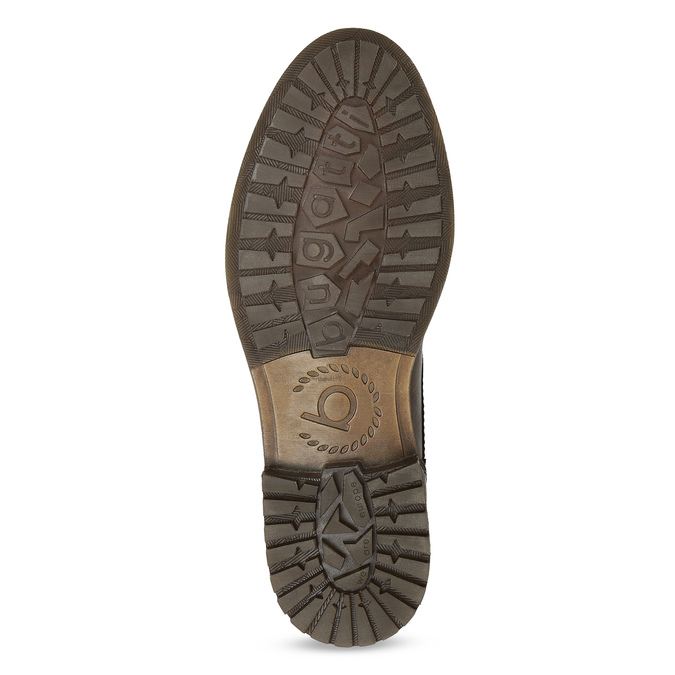 Kotníčková obuv s vázáním pánská bugatti, hnědá, 826-4056 - 18