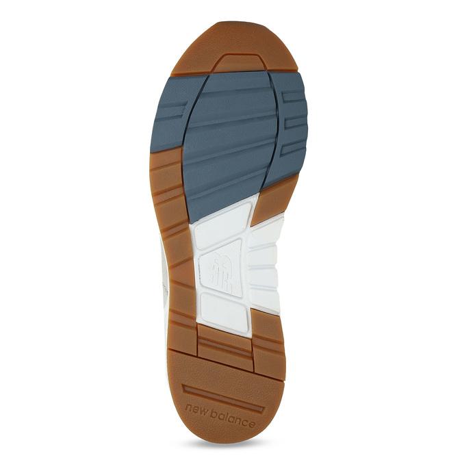 Pánské tenisky z broušené kůže new-balance, modrá, 803-9171 - 18
