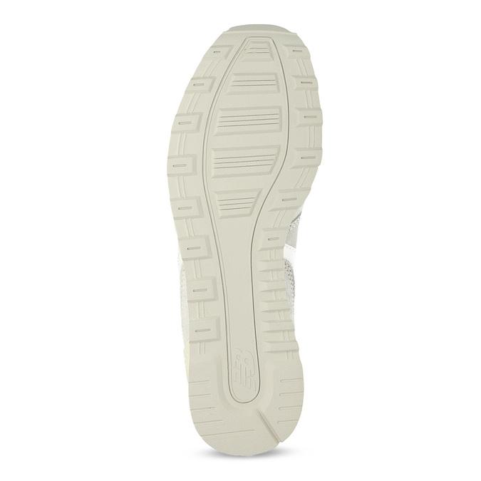 Krémové dámské tenisky z broušené kůže new-balance, béžová, 503-8173 - 18